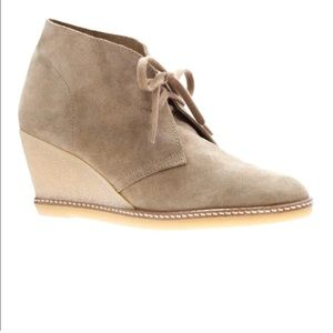 J. Crew Macalister wedge booties